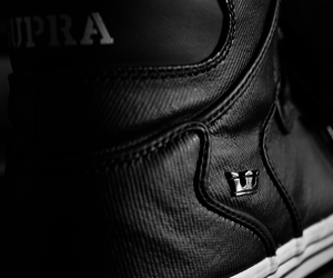 supra, shoes, and black image