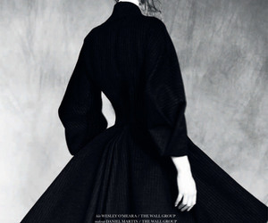 black and white, gertrud hegelund, and model image