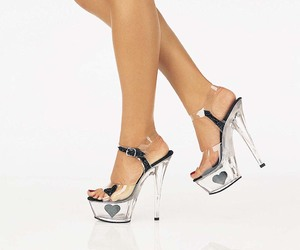high heels, shoes, and Hot image
