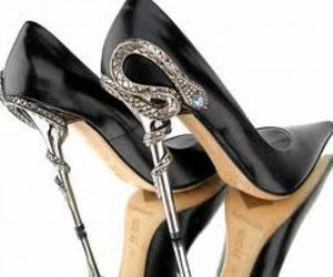 girls, high heels, and Hot image