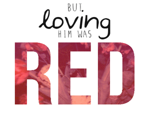 red, Taylor Swift, and song image