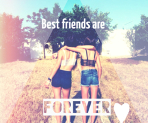 best friends and forever image