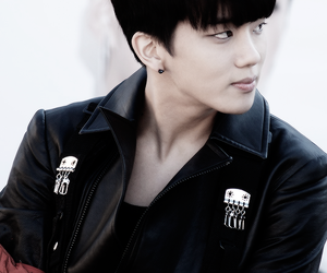 <3, b.a.p, and youngjae image