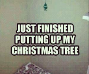 christmas, funny, and tree image