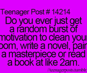 teenager post, motivation, and funny image
