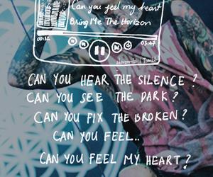 bring me the horizon, Lyrics, and oliver sykes image