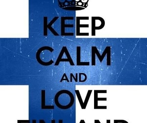 finland and keep calm image