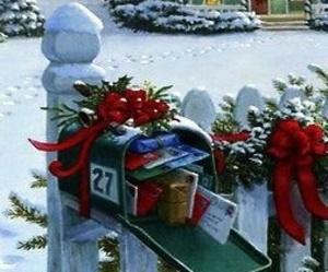 christmas, christmas ornaments, and snow image