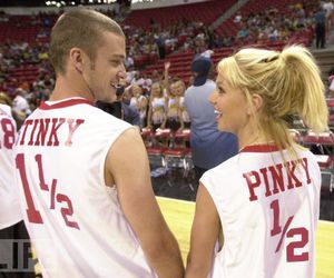 britney spears, justin timberlake, and love image