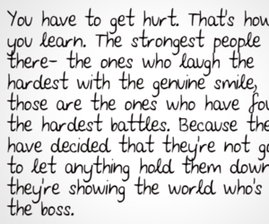 quote, strong, and hurt image