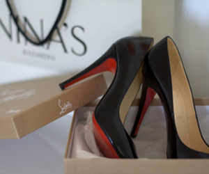 christian louboutin, high heels, and louboutins image