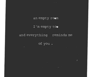empty and love image
