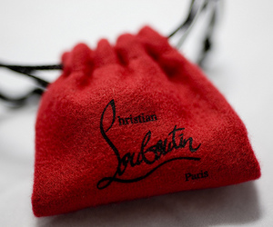 christian louboutin and red image