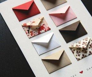 diy, envelope, and gift image