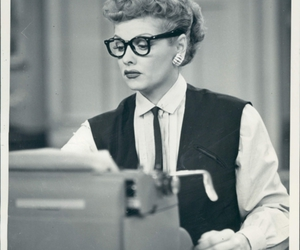 glasses, Lucille Ball, and Lucy image