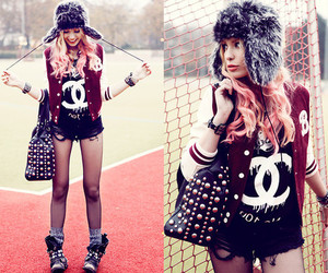 beautiful, chanel, and college image