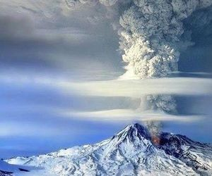 could and volcanic eruption image