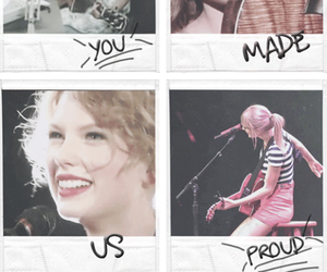 proud and Taylor Swift image
