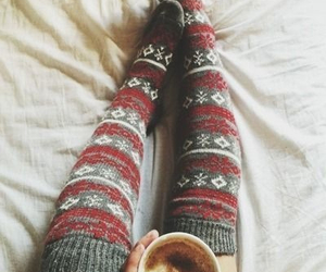 coffee, fashion, and cold image