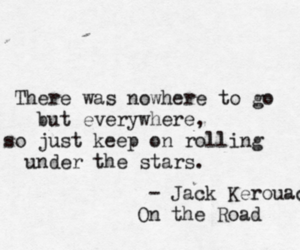 quotes, stars, and on the road image