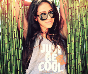girl, cool, and brunette image