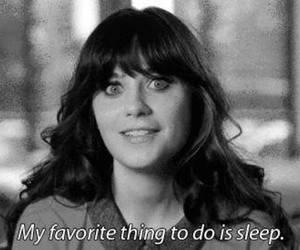 sleep, quotes, and new girl image