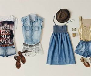 outfit, pretty, and summer image