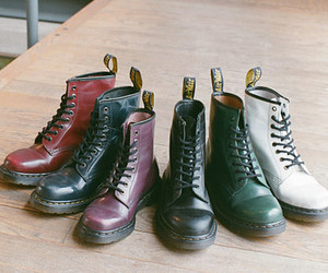 shoes, dr martens, and boots image
