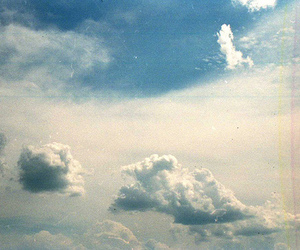 clouds, film, and sky image