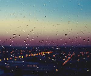 rain, photography, and city image
