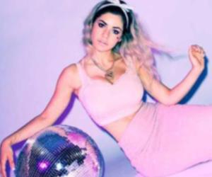 marina and the diamonds, pink, and grunge image
