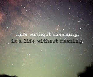 Dream, galaxy, and life image