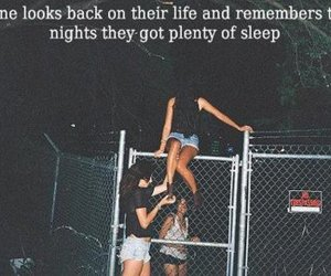 night, quote, and fun image