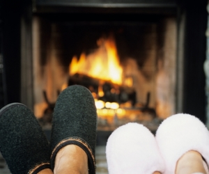 winter, slippers, and warm image