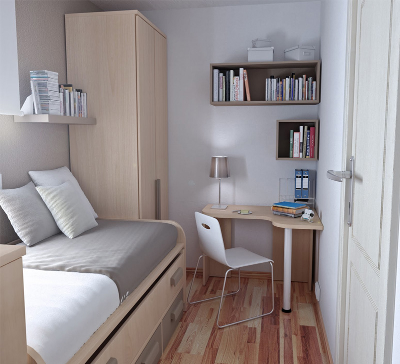 Small Dorm Room Design Idea for Decorating | | Home Designs ...