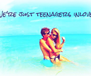 love, teenager, and cute image