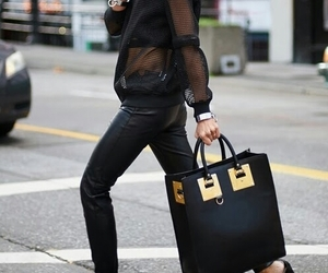 black, style, and gold image