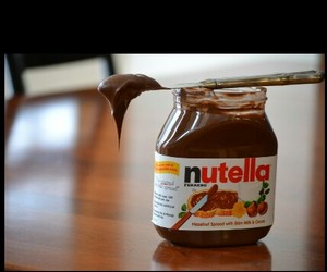 cafe, nutella, and chicolate image