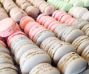 macarons and delicious image