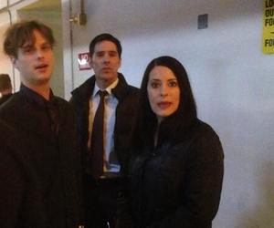 criminal minds, thomas gibson, and paget brewster image