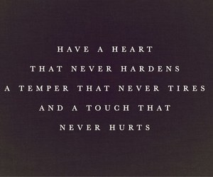 quotes, heart, and touch image