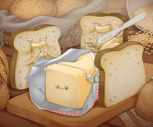 butter, crude, and rape image