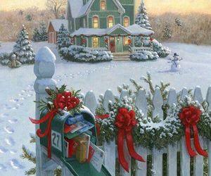 amazing, christmas, and snow image