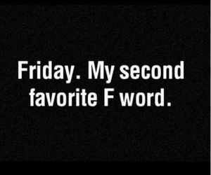 black, words, and f image