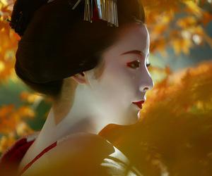 geisha, japan, and kyoto image