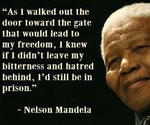 nelson mandela, learn to love, and quotes image
