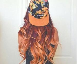 hair, hairstyle, and cap image