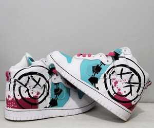 blink 182 and sneaker image
