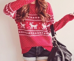 christmas, clothes, and pattern image