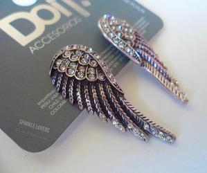 accessories, wings, and angel image